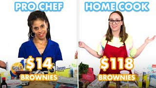 $118 vs $14 Brownies: Pro Chef & Home Cook Swap Ingredients | Epicurious