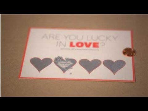 Scratch Off Card Valentine S Day Craft