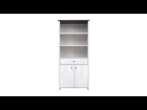 Шкаф REG2D1S цвета джанни / сосна ларико