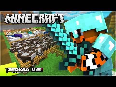 Finally Getting FULL DIAMOND Armour & Finding Treasures! (Minecraft #29 LIVE )