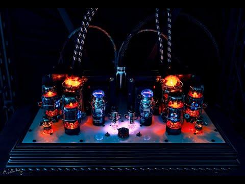 Decware tube HI-FI system with Tannoy Canterbury GR speakers