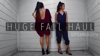 HUGE FALL HAUL! | Forever 21, Lulus, Windsor, & more!