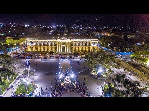 Gran San Salvador moderno actual y 100% ILUMINADO