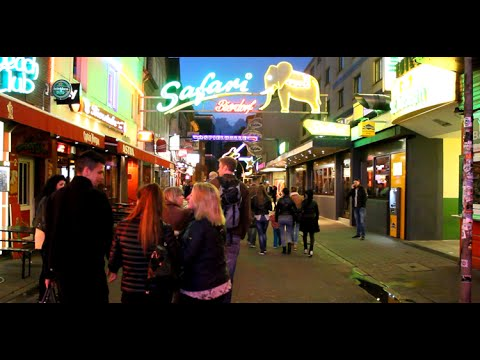 Red Light District  Reeperbahn Hamburg
