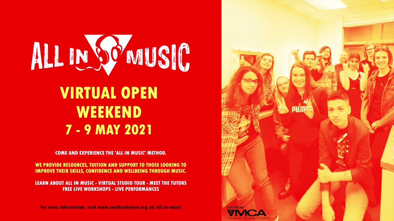 All In Music to Host Virtual Open Weekend