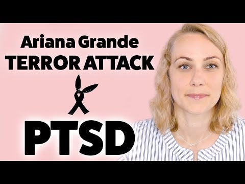 Ariana Grande Concert & PTSD | Dissociation, Depression and Anxiety