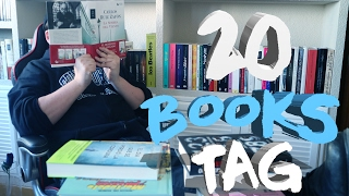 20 BOOKS TAG | Blue Jeans