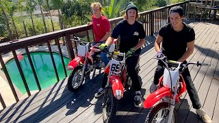 Dirt Bikes In The HOUSE - Buttery Vlogs Ep63
