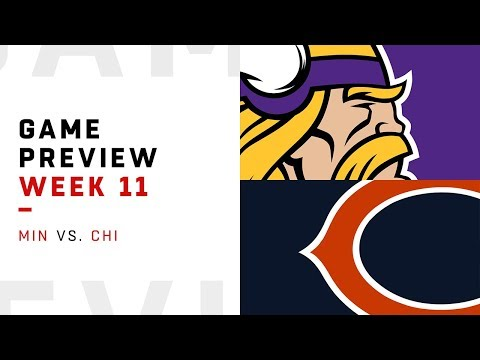 Minnesota Vikings vs. Chicago Bears | Week 11 Game Preview | Move the Sticks