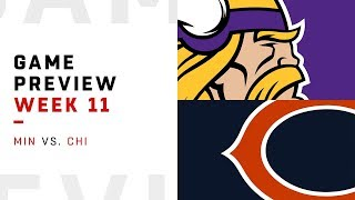 Minnesota Vikings vs. Chicago Bears | Week 11 Game Preview | Move the Sticks