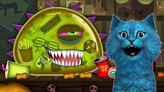ХИЩНЫЙ СЛИЗЕНЬ ХОЧЕТ КУШАТЬ Игра злую голодную слизь КОТЁНОК ЛАЙК Mutant Blobs Attack