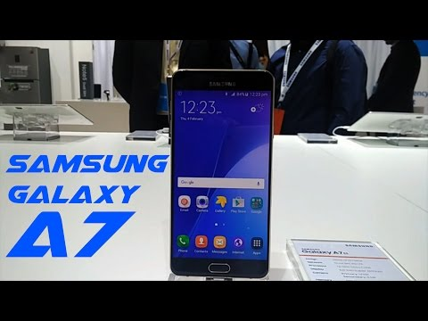 Samsung Galaxy A7 First Look Video