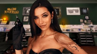ASMR Tattoo Shop Appointment 🐉