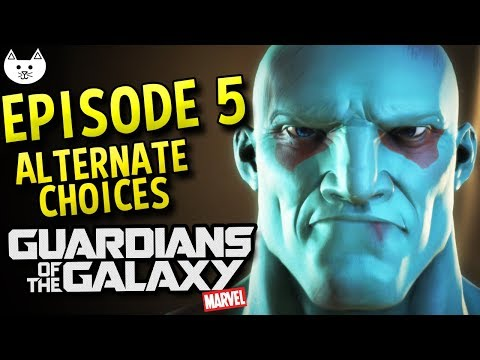 Telltale Guardians of The Galaxy Episode 5 ALTERNATE CHOICES - Revive, Nebula Alive, Bal-Dinn Alive