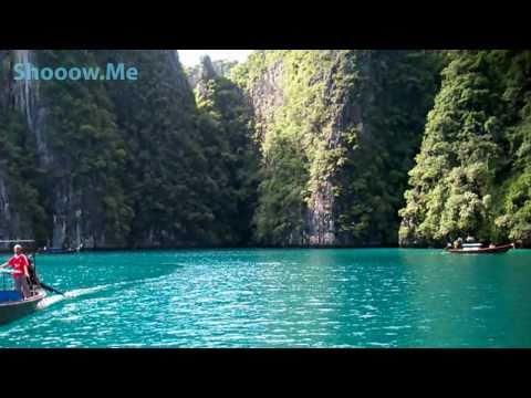 The Phi Phi Islands ✈Острова Пхи-Пхи Пляж из фильма с Лео Ди Каприо