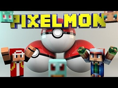 Pokemon in Minecraft!: Pixelmon Episode 1- Shoutouts, Overviews, and more!