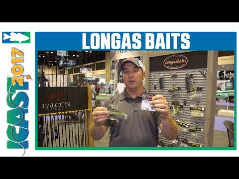 LongasBaits PDL 4 Wire Rig & 4 Wire Head w. Justin Parchman | ICAST 2017