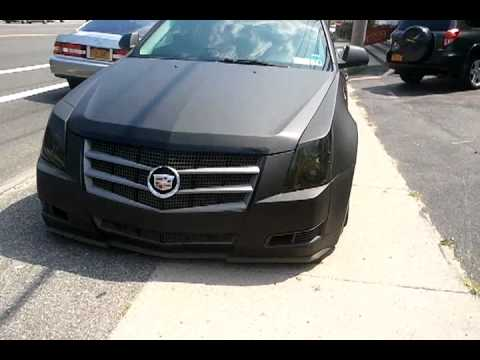 Bagged and Matte Black CTS  YouTube