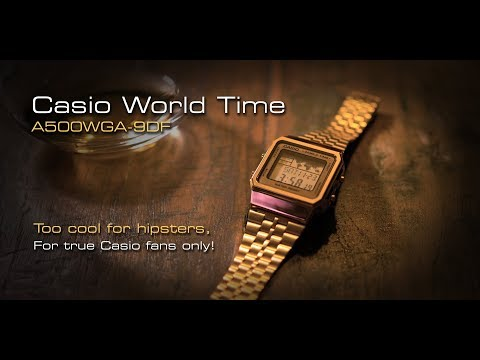 Casio World Time - A500WGA-9DF - It's Too Cool For Hipsters!