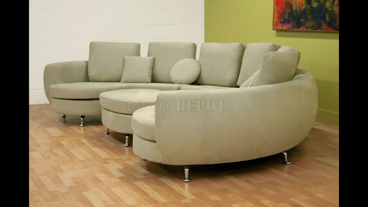 Half Moon Sectional Sofa