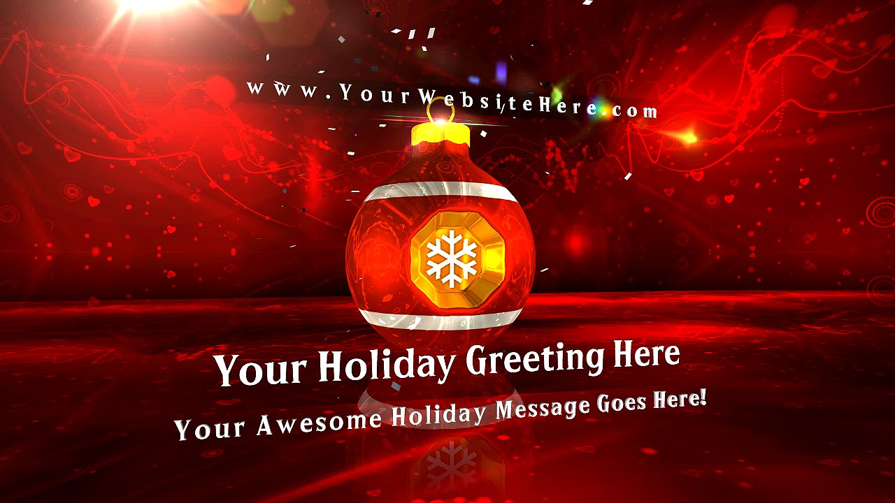 intro video maker get a video intro in minutes christmas cheer