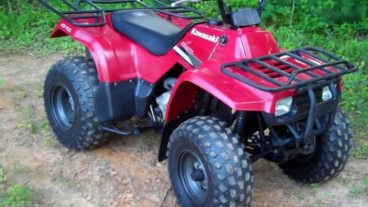2007 Kawasaki KLF250 Bayou ATV - YouTube