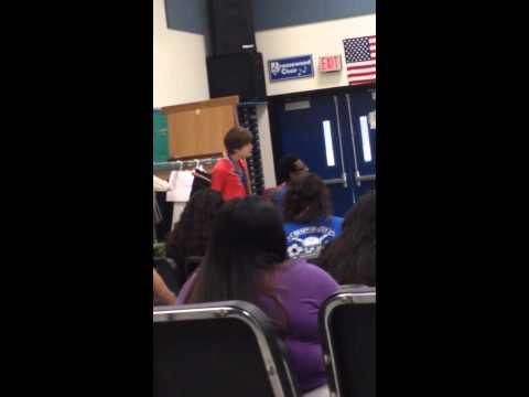 Lay me down- sam smith cover.  Brazoswood high school