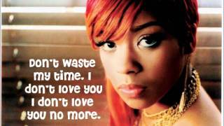 Keyshia Cole - I Changed My Mind Lyrics