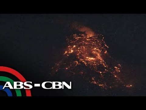 LIVE: Mayon Volcano spews lava, ash | 24 January 2018