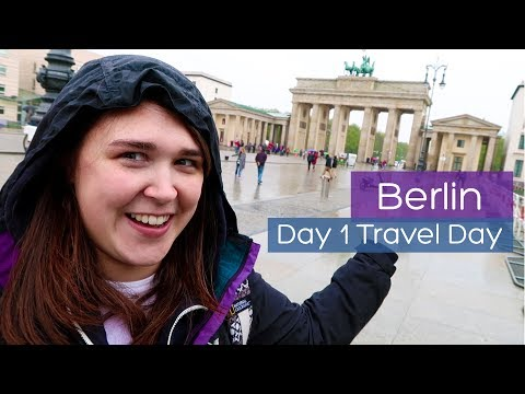 First time in Berlin | Day 1 | Travel day