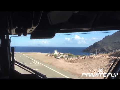 Landing at Juancho E. Yrausquin Airport (SAB-TNCS) on Saba | PrivateFly