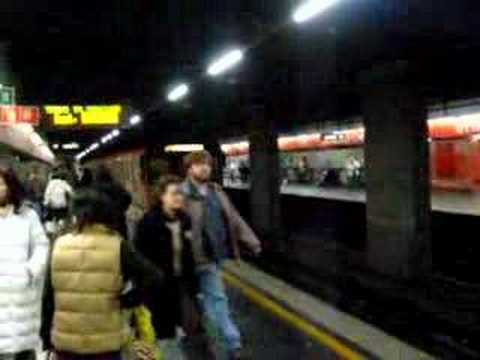 Line-A video at Ottaviano San Pietro station, Rome #1