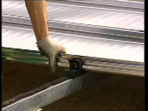 Alugraf sistema di copertura per tetti a bassa pendenza youtube - Sistema di aerazione per casa ...