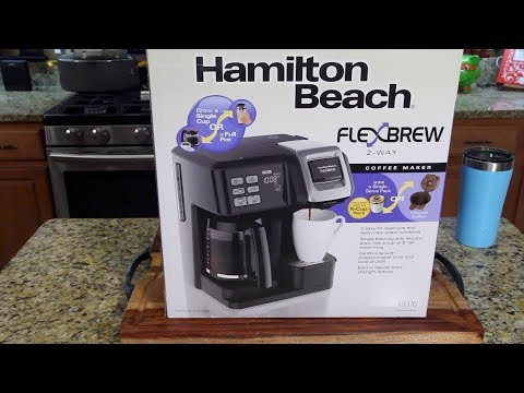 Hamilton Beach FlexBrew Coffee Maker Review (Kcups & Pot)