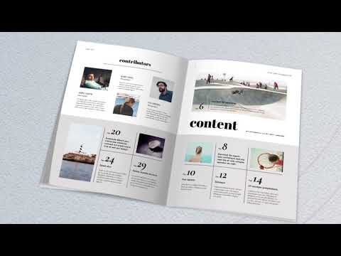 Magazine Mock Up Promotion | After Effects template