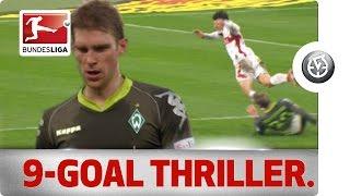 Nine-Goal Thriller: Mertesacker's Nightmare and Gomez's Defining Moment