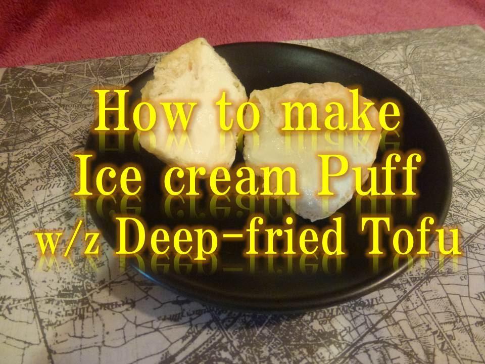 how to make japanese fried ice cream
