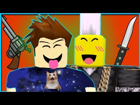 ONLY YOUTUBERS ROBLOX MURDER MYSTERY 2
