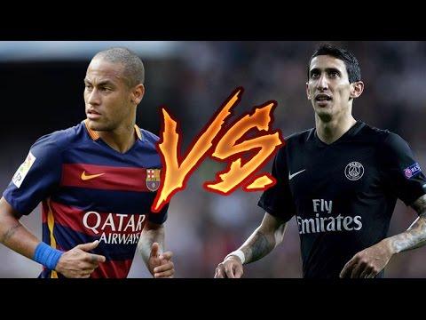 Neymar Jr. vs Angel Di Maria ● Masterpiece 2015/2016   HD