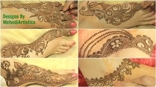 henna mehendi designs by mehndiartistica new mehandi patterns 2016 gulf rose peacock leg