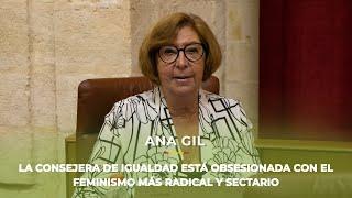 ANA GIL desmonta el feminismo radical y sectario que defiende la consejera de Igualdad