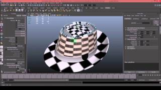 Model a hat in Maya part 3 (texturing)