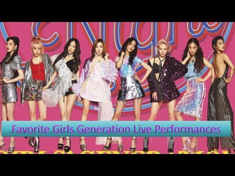 Favorite Girls Generation Live Performances