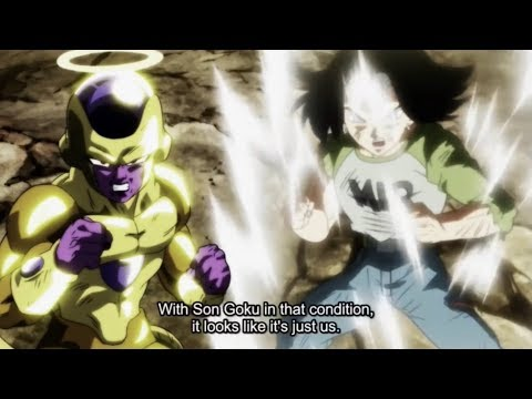 Frieza and Android 17 RETURN AND SAVE GOKU HD English sub