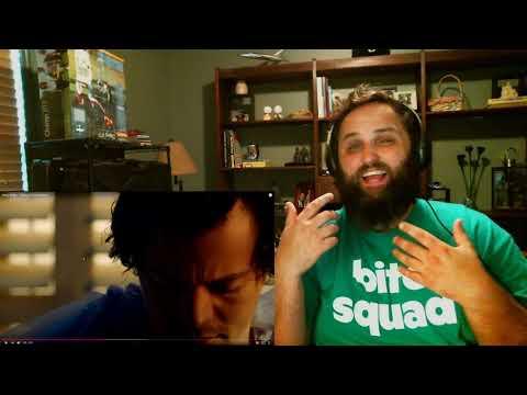 The Bushy Beard REACTS to Falling by Harry Styles!