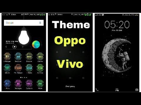 VIVO & OPPO Phone THEMES - COLOR OS Calligraphy Theme - Tech-Nick