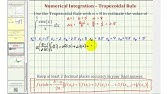 Using the trapz and cumtrapz functions in MATLAB - YouTube
