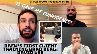 Drew Hanlen's First Client, High School Brad Beal, All-Star David Lee|EPISODE 9| IGI:How To Be A Pro