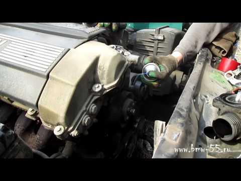 Замена термостата BMW E34 с двигателем m50