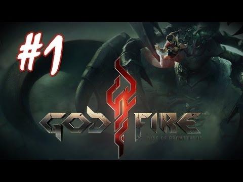 Мобильная RPG на Android и IOS Godfire: Rise Of Prometheus  (часть 1)